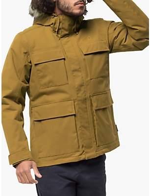 Point Barrow Men's Waterproof Jacket, Golden Amber