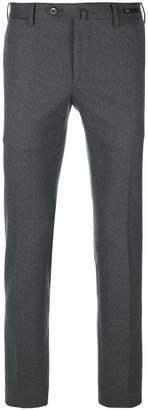 Pt01 plaid skinny trousers