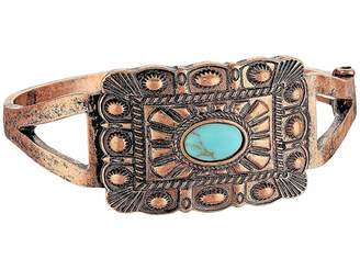 M&F Western Rectangle Copper Snap Bracelet