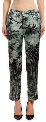 F.R.S For Restless Sleepers Paradise-Print Pants