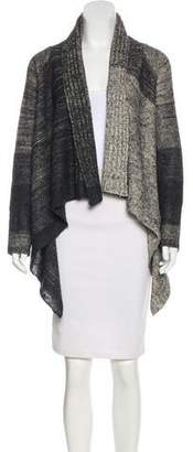 Zero Maria Cornejo Draped Knit Cardigan