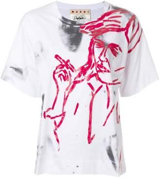 Marni painted T-shirt