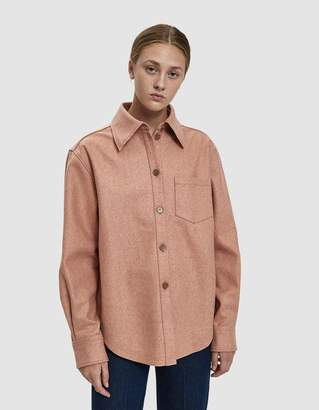 Acne Studios Boxy Flannel Shirt