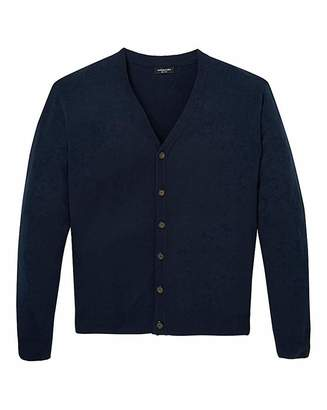 Jacamo Navy Button Cardigan