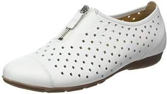 Gabor Shoes Women's Fashion Ballet Flats, (Weiss 21), (43 EU)