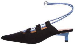Ganni Agnes Ankle Strap Pumps w/ Tags