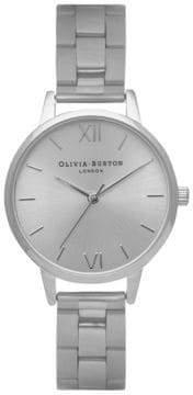Olivia Burton Analog Midi Dial Stainless Steel Bracelet Watch