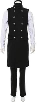 Versus Wool Button-Up Vest