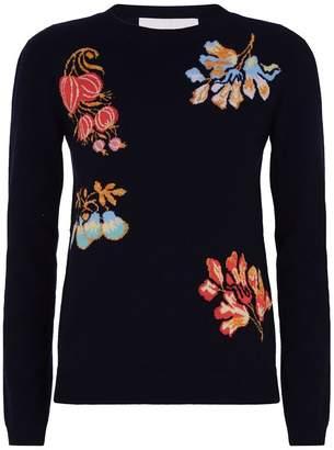 Peter Pilotto Floral Motif Sweater