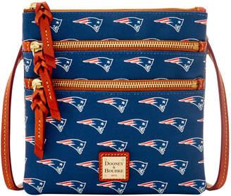 Dooney & Bourke NFL Patriots Triple Zip Crossbody