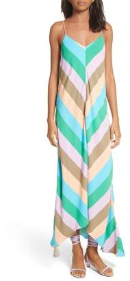Tibi Maxi Slip Dress