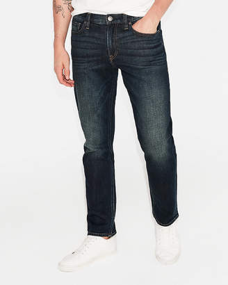 Express Classic Slim Dark Wash Stretch Jeans