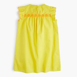J.Crew Girls' scallop-trimmed dress
