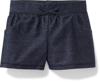 Shirred French-Terry Shorts for Toddler Girls $8.94 thestylecure.com