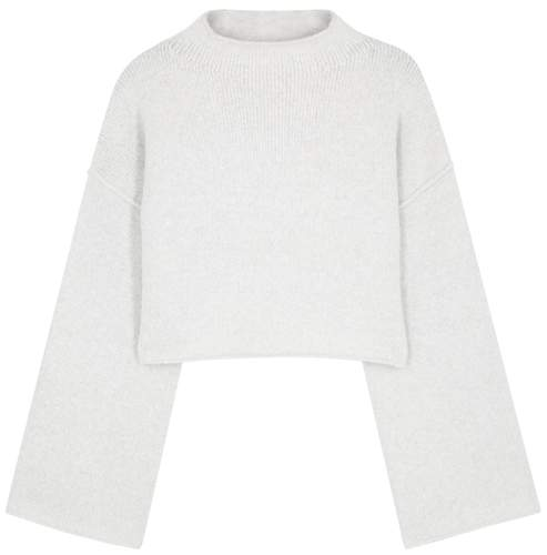 Lost In A Forest Grey Knitted Jumper