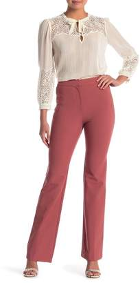 Rebecca Taylor Suiting Flare Pants