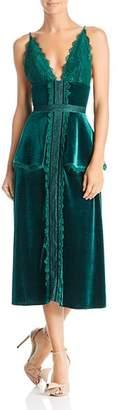 Lee SAU Bridget Velvet Dress