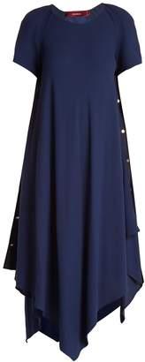 SIES MARJAN Sophie asymmetric-hem crepe dress