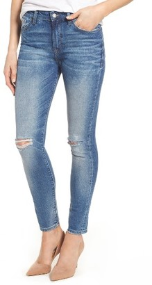 Women's Mavi Jeans Lucy Ripped Skinny Jeans $118 thestylecure.com