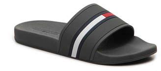 9c1ef01df Tommy Hilfiger Slide Flag Sandals - Men s