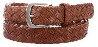Ralph Lauren Woven Leather Belt
