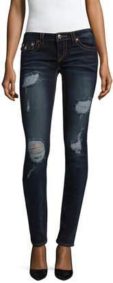 True Religion Destroyed Skinny Flap Pant