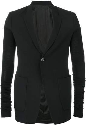 Rick Owens one button blazer
