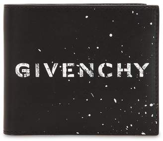 Givenchy Printed Leather Classic Wallet