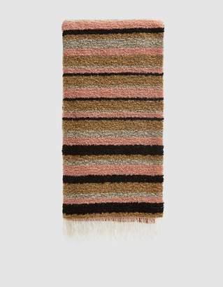 Acne Studios Striped Knit Scarf