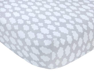Carter's Cloud Sateen Crib Fitted Sheet