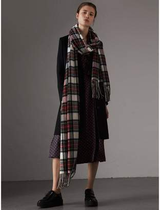 Burberry Wool Cashmere Tailored Coat , Size: 14, Black