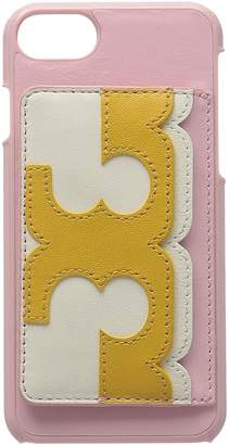 Tory Burch Scallop-T Pocket Case iPhone 8 Cell Phone Case