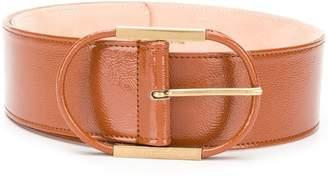 Elisabetta Franchi wide shaped belt
