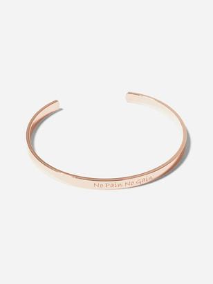 Shein Letter Engraved Cuff Bracelet 1pc