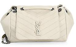 Saint Laurent Women's Large Nolita Monogram Matelassé Leather Shoulder Bag