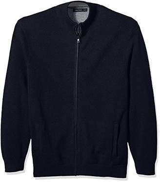 Nautica Men's Zip Front Track Jacket