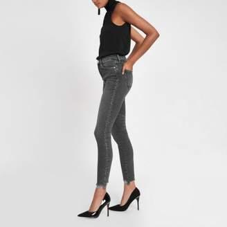 River Island Grey Rl Amelie super skinny jeans
