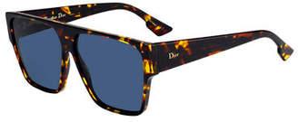 Christian Dior DiorHit Mirrored Acetate Sunglasses