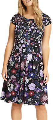 Studio 8 Emma Floral Print Dress, Purple