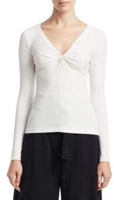 A.L.C. Madre Twist Knit Top