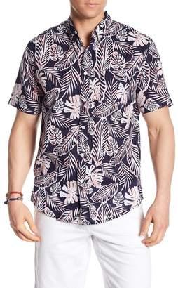 Trunks Surf and Swim CO. Tropical Print Shirt