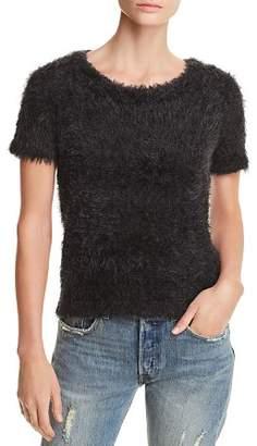 Aqua Eyelash Short-Sleeve Sweater - 100% Exclusive
