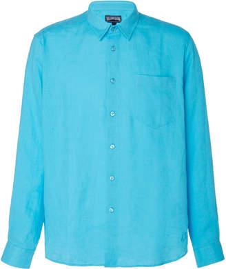 Vilebrequin Caroubis Linen T-Shirt Size: M