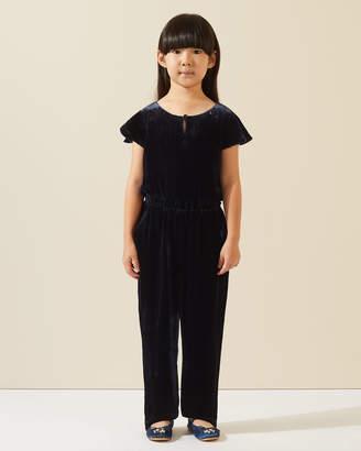 Jigsaw Silk Velvet Jumpsuit