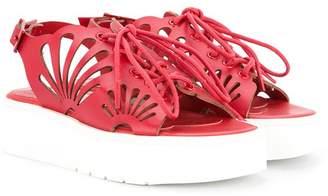 Stella McCartney cut-out platform sandals