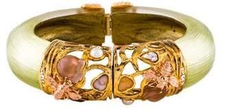 Alexis Bittar Lucite & Crystal Secret Garden Bracelet