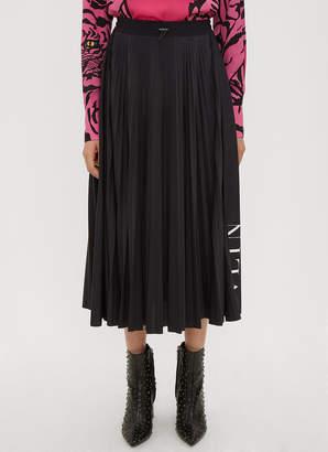Valentino VLTN Pleated Skirt