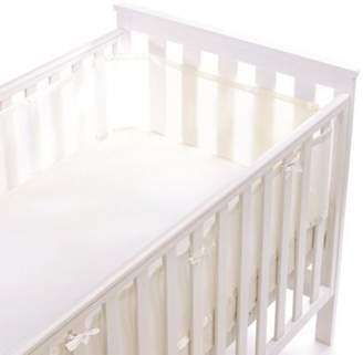 BreathableBaby 4 Sided Mesh Cot Liner (White)