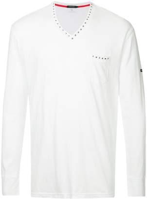 Loveless studded plain T-shirt