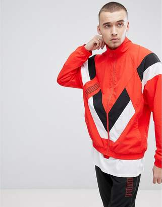 Puma Heritage Jacket In Red 57500242